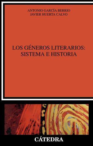 GENEROS LITERARIOS: SISTEMA E HISTORIA