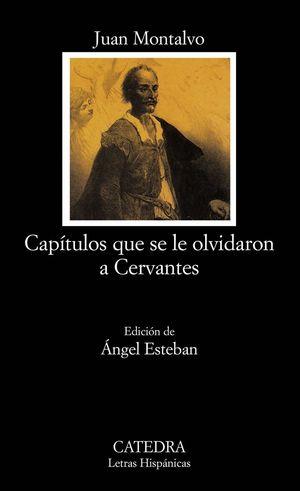 CAPITULOS QUE SE LE OLVIDARON A CERVANTES