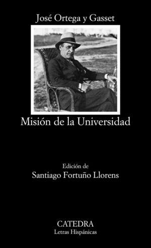 MISION DE LA UNIVERSIDAD