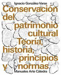 CONSERVACIÓN DEL PATRIMONIO CULTURAL