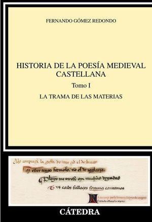 HISTORIA DE LA POESÍA MEDIEVAL CASTELLANA I