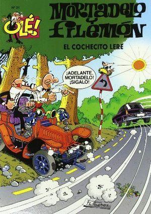 OLE MORTADELO 21 EL COCHECITO LERE