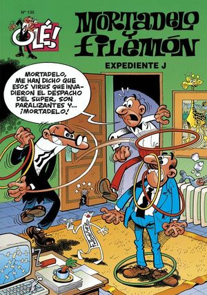 OLE MORTADELO Y FILEMON 135 EXPEDIENTE J