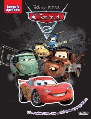 CARS. 2. LIBRO DE ACTIVIDADES CON PEGATINAS