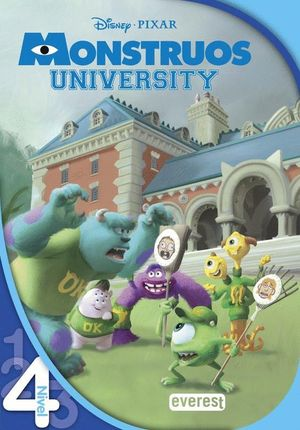 MONSTRUOS UNIVERSITY. LEO CON DISNEY. LECTURA NIVEL 4