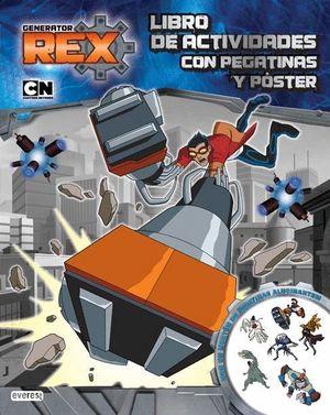 GENERATOR REX. LIBRO DE ACTIVIDADES CON PEGATINAS Y PÓSTER