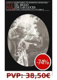 SIGLO DE LAS LUCES/TOMO 1 1715-1750