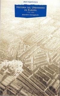 HISTORIA DEL URBANISMO EN EUROPA 1750-1960