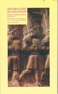 HISTORIA Y LEYES DE LOS HITITAS