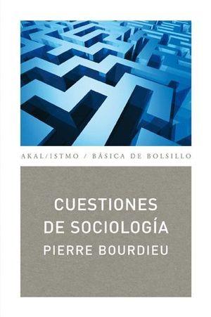 CUESTIONES DE SOCIOLOGIA