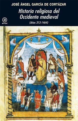 HISTORIA RELIGIOSA DEL OCCIDENTE MEDIEVAL