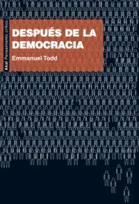 DESPUES DE LA DEMOCRACIA