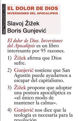 EL DOLOR DE DIOS