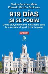 919 DÍAS ¡SÍ SE PODÍA!
