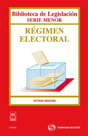 RÉGIMEN ELECTORAL 8ª EDIC.