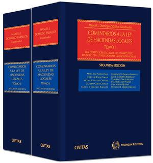 COMENTARIOS A LA LEY DE HACIENDAS LOCALES (2 TOMOS) (PAPEL + E-BOOK)