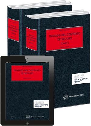 TRATADO DEL CONTRATO DE SEGURO (2 TOMOS) (PAPEL + E-BOOK)