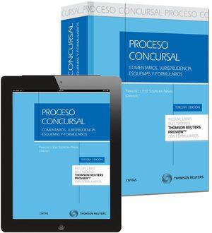 PROCESO CONCURSAL (PAPEL + E-BOOK) 3ªED.