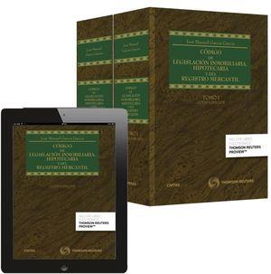 CODIGO DE LEGISLACION INMOBILIARIA HIPOTECARIA Y REGISTRO 2VOL.