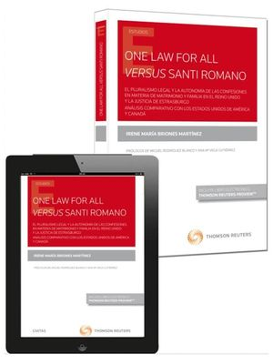 ONE LAW FOR ALL VERSUS SANTI ROMANO
