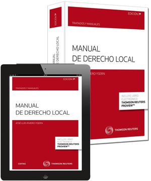 MANUAL DE DERECHO LOCAL (PAPEL + E-BOOK)