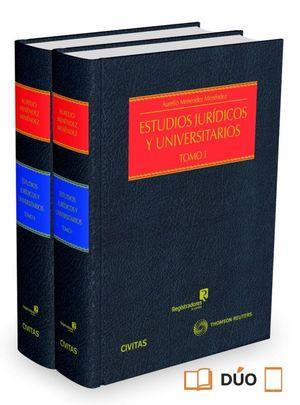 ESTUDIOS JURIDICOS Y UNIVERSITARIOS (2 VOL.)