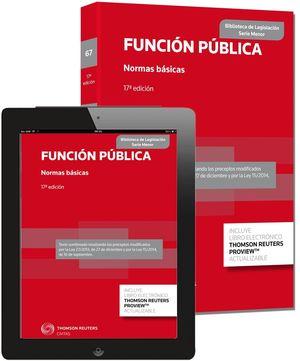 FUNCION PUBLICA, NORMA BASICAS