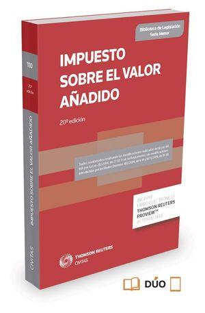 IMPUESTO SOBRE EL VALOR AÑADIDO (PAPEL + E-BOOK)
