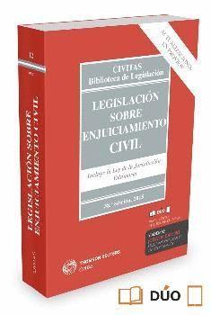 LEGISLACION SOBRE ENJUICIAMIENTO CIVIL (PAPEL + E-BOOK)