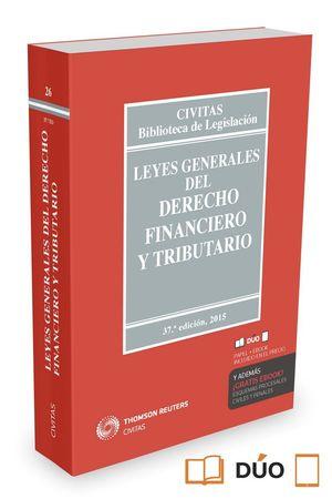 LEYES GENERALES DEL DERECHO FINANCIERO Y TRIBUTARIO 2015