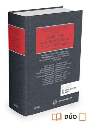 COMENTARIO A LA LEY DE DEFENSA DE LA COMPETENCIA (PAPEL+EBOOK)