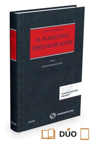 EL PLAGIO EN EL DERECHO DE AUTOR (PAPEL + E-BOOK)