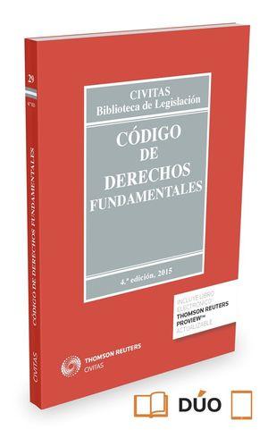 CODIGO DE DERECHOS FUNDAMENTALES 4ºED. 2015