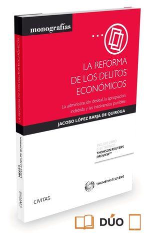 LA REFORMA DE LOS DELITOS ECONOMICOS