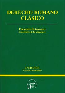 DERECHO ROMANO CLÁSICO