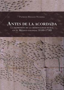 ANTES DE LA ACORDADA