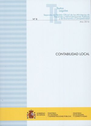 CONTABILIDAD LOCAL - Nº 8