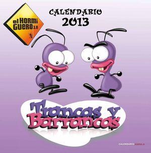 CALENDARIO TRANCAS Y BARRANCAS 2013