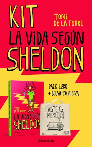 KIT LA VIDA SEGUN SHELDON (LIBRO + BOLSA REGALO)