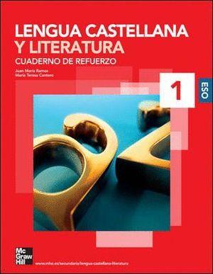 CUADERNO DE REFUERZO LENGUA Y LITERATURA 1ºESO 2008
