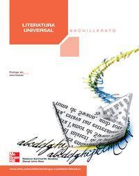 LITERATURA UNIVERSAL  BACHILLERATO EDICION 2009