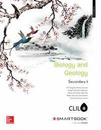 LA+SB BIOLOGY AND GEOLOGY 1 ESO CLIL. LIBRO ALUMNO + SMARTBOOK.