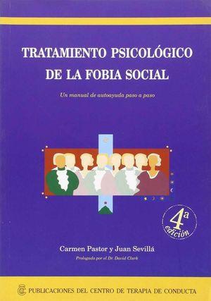 TRATAMIENTO PSICOLOGICO DE LA FOBIA SOCIAL