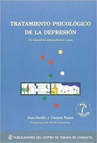 TRATAMIENTO PSICOLOGICO DE LA DEPRESION
