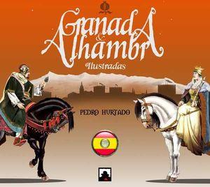 GRANADA & ALHAMBRA ILUSTRADAS