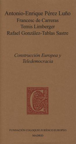 CONSTRUCCIÓN EUROPEA Y TELEDEMOCRACIA