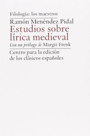 ESTUDIOS SOBRE LIRICA MEDIEVAL