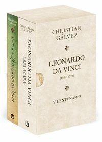 ESTUCHE LEONARDO DA VINCI (1452-1519) V CENTENARIO