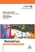 MATEMATICAS CICLOS FORMATIVOS DE FP