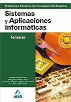 CUERPO DE PROFESORES TÉCNICOS DE FORMACIÓN PROFESIONAL. SISTEMAS Y APLICACIONES